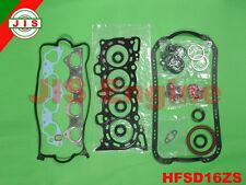 HONDA 92-95 Civic EX/ Si del Sol Si 1.6L D16Z6 VTEC FULL GASKET SET HFSD16ZS
