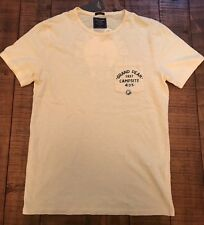 NWT Men's Abercrombie & Fitch Grand Peak Campsite ADK Short Sleeve Tee  M Yellow
