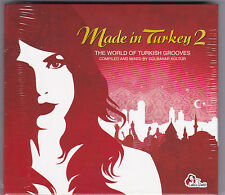 MADE IN TURKEY 2-THE WORLD OF TURKISH GROOVES MIXED GÜLBAHAR KÜLTÜR 2 CD'S NEU!