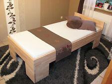 Bettgestell Bett 90x200 Fuß II Doppelbett Gästebett Futonbett Schlafzimmer Buche