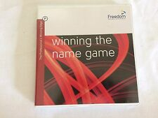 Winning the Name Game Audio CD Freedom Personal Development Eric Platenberg Tom