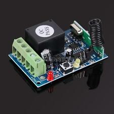 433MHz DC12V 1 Channel Learning Code Wireless Remote Control Relay Mode RS#