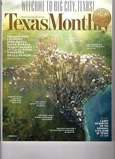 TEXAS MONTHLY Magazine (February  2013) WELCOME TO BIG CITY, TEXAS!