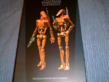 SIDESHOW 1/6 SCALE GEONOSIS INFANTRY BATTLE DROIDS SET 2 FIGURES NEW (SS100285 )