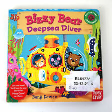 Childrens Kids Bright Picture Bizzy Bear Deep Sea Diver Benji Davies Board Book