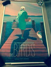 The Birds(Pier Edition) SIGNED by Laurent Durieux Mondo Hitchcock SOLD OUT