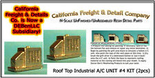 Roof Top A/C UNIT #4 KIT (2pcs) N/1:160-Scale Craftsman California Freight nnPR4