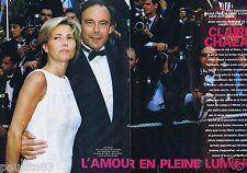 Coupure de presse Clipping 1999 Claire Chazal  (4 pages)