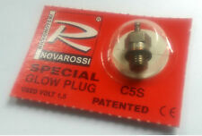Novarossi C5S RC Car 1/10 1/8 Nitro Engine GLOW PLUG MEDIUM Buggy Starter
