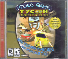 Video Game Tycoon: Gold Edition (PC, 2006, GameSweet Software)