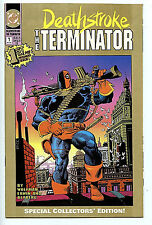 Deathstroke The Terminator #1 NM/M 2nd Print Gold DC Comics New 1991