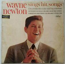 WAYNE NEWTON Sings Hit Songs Vintage LP Album Capitol Record ST2130
