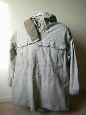 Original WW2 German Uniform Gebirgsjager Reversible Winter Snow Camo Jacket