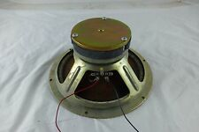 """RARE KLH Round Magnet 10"""" Woofer - KLH Model Five & Others - 1968 - TESTED"""
