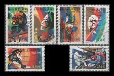 Honoring Jazz Musicians France 2905-2910 (6 USED Stamps)