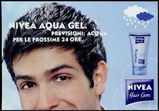 cartolina pubblicitaria PROMOCARD n.4216 NIVEA AQUA GEL HAIR CARE
