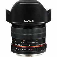 Samyang 14mm F2.8 ED AS IF UMC Ultra Wide Angle Lens 14 F/2.8 for Canon ~ NEW