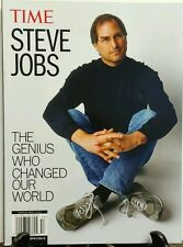 Time Steve Jobs The Genius Who Changed Our World FREE SHIPPING sb