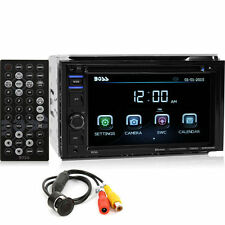 Boss BVB9364RC Double DIN Bluetooth DVD Car Stereo w/ Rearview Backup Camera
