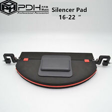 PDH Professional Bass Drum / Kick Drum Mute / Silencer Pad / Practice Pad 16-22""
