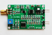 0.1 ~ 2.4 GHz RF power meter module,RF high frequency geophone detector