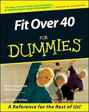 First Edition Fit Over 40 for Dummies Paperback Book