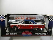 1/18 SUPERCAR COLLECTIBLES SOX & MARTIN 1967 SUPERSTOCK 440 GTX