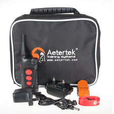 Aetertek Electric Remote Control Dog Shock Training Collar Auto Anti Bark