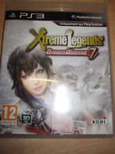 JEU XTREME LEGENDS DYNASTY WARRIORS 7 PS3 NON IMPORT VERSION FRANCAIS 3D COMPLET