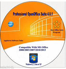 OpenOffice Software Suite For Word Processing, Spreadsheets- Window 7,8.1 & 10