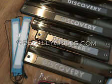 Door Sill Illuminated Plates Interior Land Rover Discovery 3 4 LR3