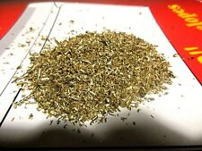 1 Pound of brass (gold colored) Metal turnings , Scrap Chips- Orgone-crafts