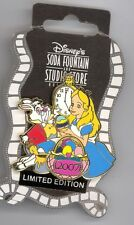 DSF Disney Alice in Wonderland White Rabbit Painting Eggs Easter LE 300 Pin