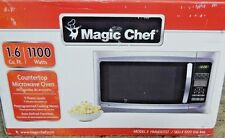 Magic Chef 1100 Watts Countertop Microwave Oven (hmm1611) 1.6 cu.ft. STAINLESS
