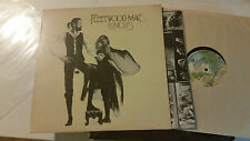 FLEETWOOD MAC RUMOURS LP w/ORIG LYRIC poster foldout '77 stevie nicks rare!