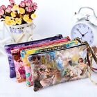 Women Lady Leather Zip Wallet Long Card Holder Case Coin Purse Handbag BKB