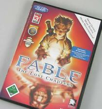 Fable 1 I the Lost Chapters para PC * Deutsch * Lionhead con manual 4 CDs