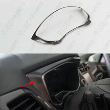 Carbon Fiber Color Center Dashboard Cover Trim For Ford Fusion Mondeo 2013-2015