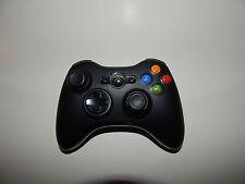 ORIG. XBOX 360 controller wireless completamente nero Xbox