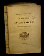 [REVOLUTION LOUIS XVI MARIE-ANTOINETTE] D'APCHIER - La Vérité sur Louis XVII.
