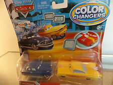 Disney Pixar Cars 2 Colour/Color Changer Ramone &Doc Hudson Mattel T5662