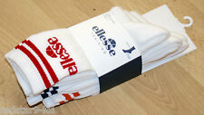 ELLESSE TENNIS SPORTS GYM FITNESS DESIGNER ITALIA SOCKS 3 PAIRS UK 9-12 EU 43-47