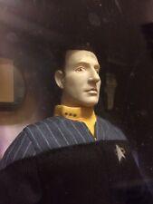 Star Trek Lt Commander Data Figure Doll First Contact Playmates 1996 MIB NRFB