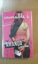 The Amanda Project - Invisible I by Melissa Kantor 2009 HC 1st Edition VG Cond