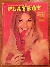 Vintage Playboy March 1971 Peggy Smith Cynthia Hall Dick Cavett Girls of Holland