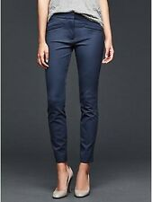 Gap Women's True Indigo Bi-Stretch Ultra Skinny Ankle Pants Size 8 Long