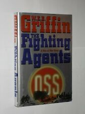 W.E.B. Griffin The Fighting Agents A Man At War Novel HB/DJ 2000.