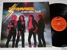 STAMPEDE hurricane town LP Polydor Rec. UK 1983 HARD ROCK
