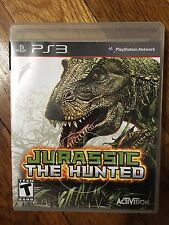 Jurassic the Hunted (Sony Playstation 3 PS3 2009) Complete