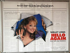 Cinema Poster: HELLO AGAIN 1987 (Quad) Shelley Long Gabriel Byrne